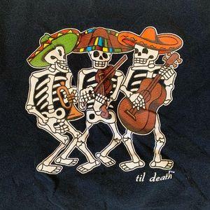 Vintage Skeleton Jazz Tee